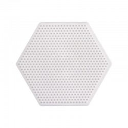PLACA HEXAGONAL HAMA MINI