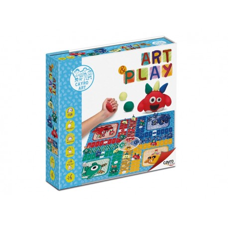 ART & PLAY PARCHIS MONSTRUOS