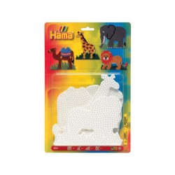 PACK 4PLACAS ANIMALES HAMA MIDI