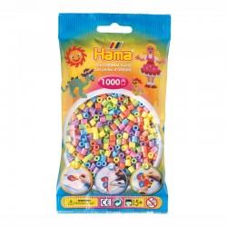 HAMA MIDI 1000 Pzas mix pastel