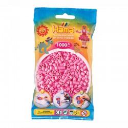 HAMA MIDI 1000 Pzas rosa pastel